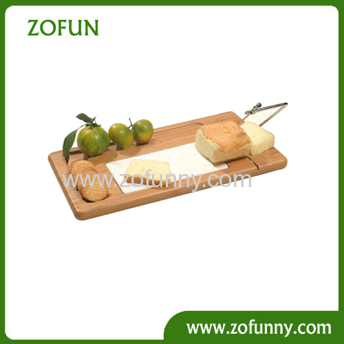 New design Bamboo Cheese cutting board sets