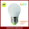 5W 400LM E27 base G45 TUV CE ROHS report LED light bulb