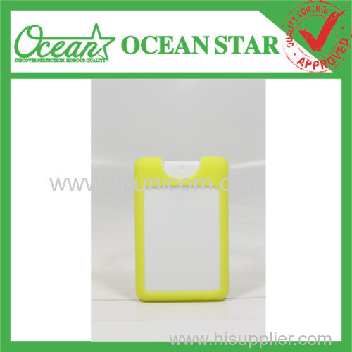 20ml credit card hand sanitizer