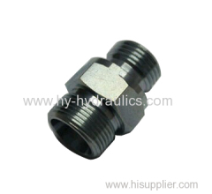 SS male connector BSP thread with captive seal 1CB-WD 1DB-WB