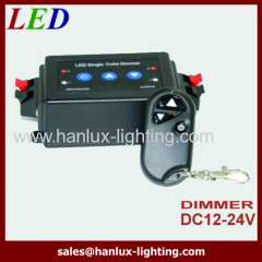 CE wireless remote LED dimmer