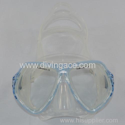 full face snorkel mask/ scuba diving equipment