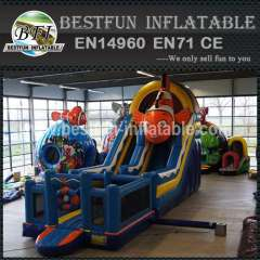 Marine Animal Inflatable Slide