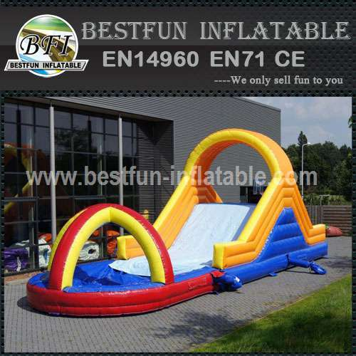 Slide Soap with Inflatable Pool