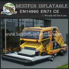 Inflatable Structure Truck Slide