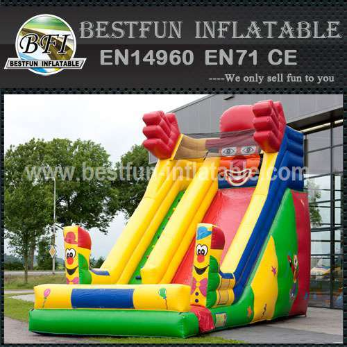 Clown Super Inflatable Slide