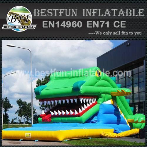 Crocodile Inflatable Slide For Sale