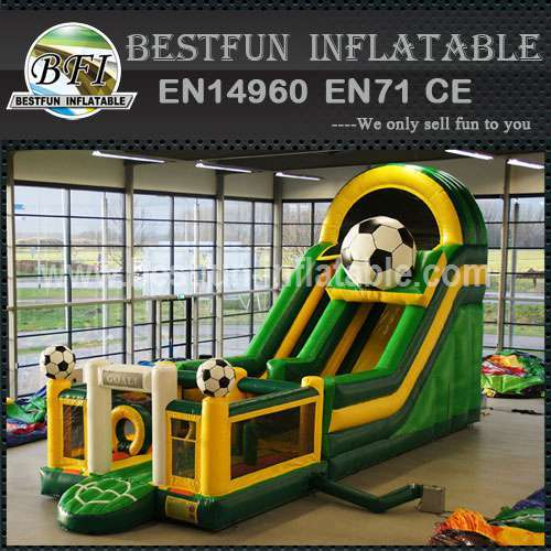 Inflatable Slide Football Theme