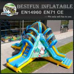 Inflatable Structure Volcano Jungle