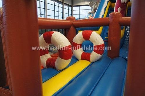 Commercial Inflatable Shark Slide for sale
