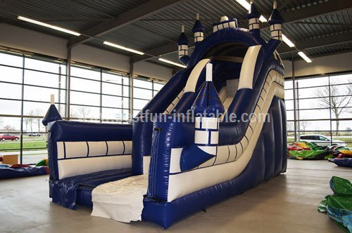 Exciting Big Inflatable Castle Slide