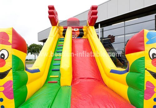 Fantasy inflatable clown slide