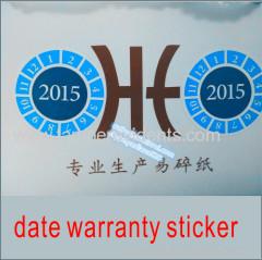 custom date code stickers