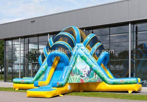 Popular Cheap Giant Inflatable Volcano Slide