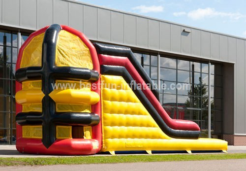 Spider Inflatable Climbing Tower Slide