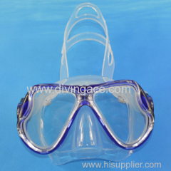 2014 China sional diving silicone full face diving mask