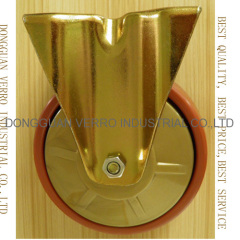 5 inches polyproplyene mobile flower shelf casters