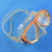 Professional silicone rubber swimming mask for diving