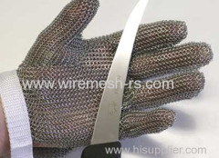 chainmail safety butcher gloves