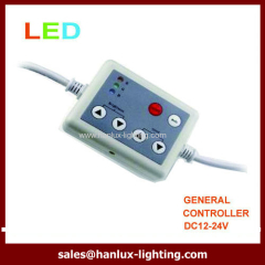 6-key plastic LED controller
