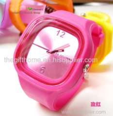 silicone jerry watch rubber watch