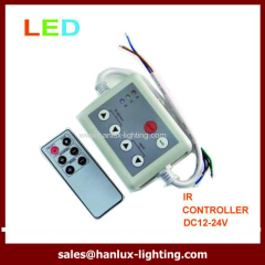 6-Key infrared LED controller