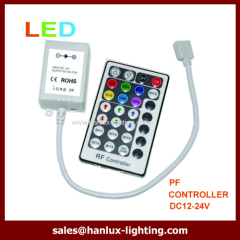 Aluminum 28-Key RF LED controller
