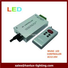 RF key RGB music controller
