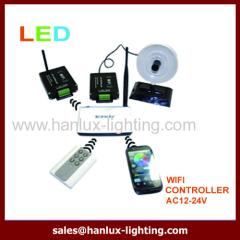 RGB LED wifi master controller
