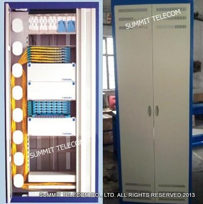 19 Inch Fiber Optic Distribution Frames Cabinets Optical