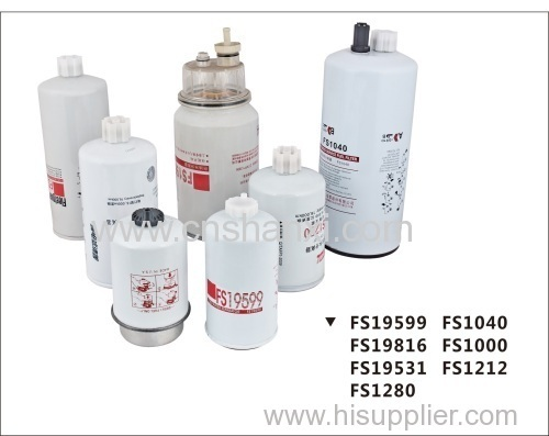 Heavy Duty Vehicle fuel oil water separator series