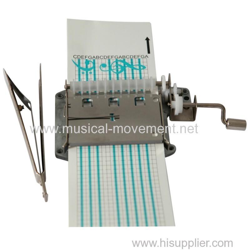 Songs DIY Paper Strip Hand Crank Musical Mechanisms