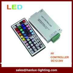 Aluminum 44-Key RF LED controller