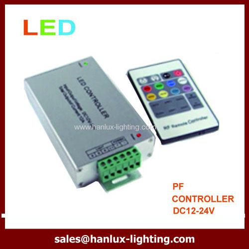 Aluminum 20-Key RF LED controller