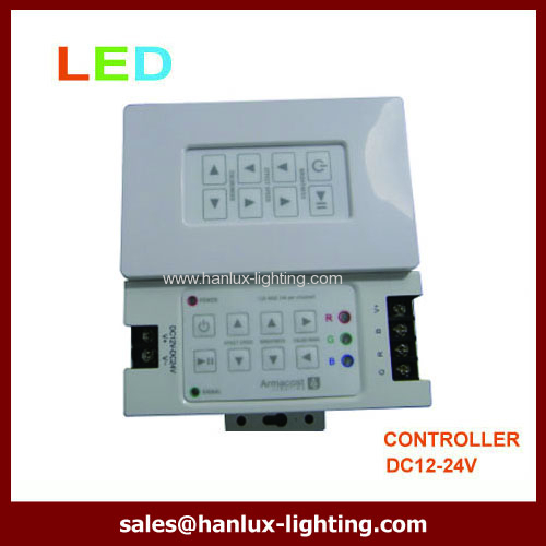 wall mounted 8-key RF LED controller