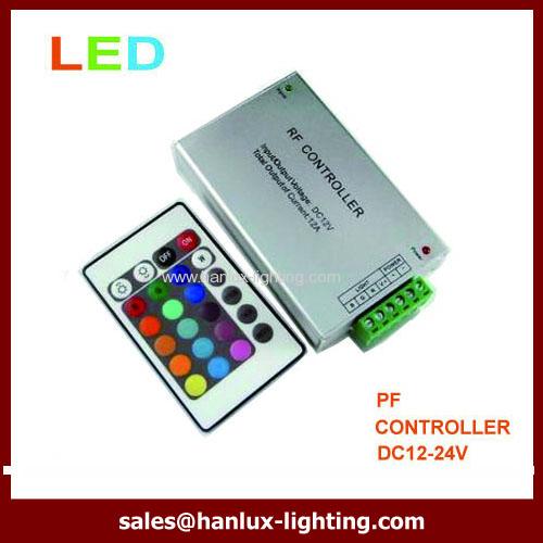 Aluminum 24-Key RF LED controller