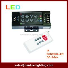 8-Key RF LED controller aluminum