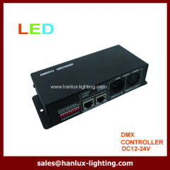 DMX512 decoder for slaver controller
