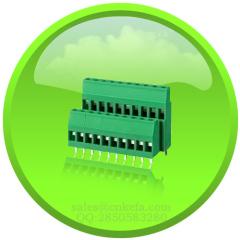 ул VDE утвержденный COMBICON терминальный блок винта с двойным входом провода для провода к печатной плате связи