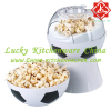 Football shape popcorn maker