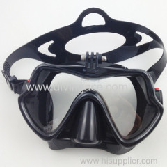 full face tempered glass diving Silicone mask