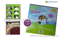 EZ hanger/clothes rack/magic hanger /EZ Hanger/hanging easy and fast/plastic cloth hanger