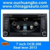 Ouchuangbo In dash car DVD player For Seat Leon 2013 with BUS car PC