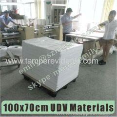 UDV largest manufacturer in China for destructible label materials