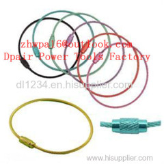 Tag with Steel wire loop for and Hotel
