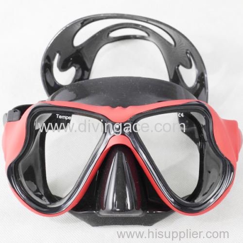 Scuba diving equipment diving mask/ liquid silicone diving mask