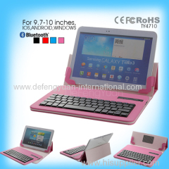 Universal bluetooth keyboard for 9.7 to10 inches tablet