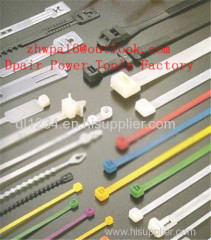 Self locking Nylon cable wire ties zip