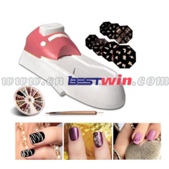 All in one nail art system hollywood nail as seen on tv