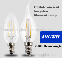 LED Filament Lamp Lights